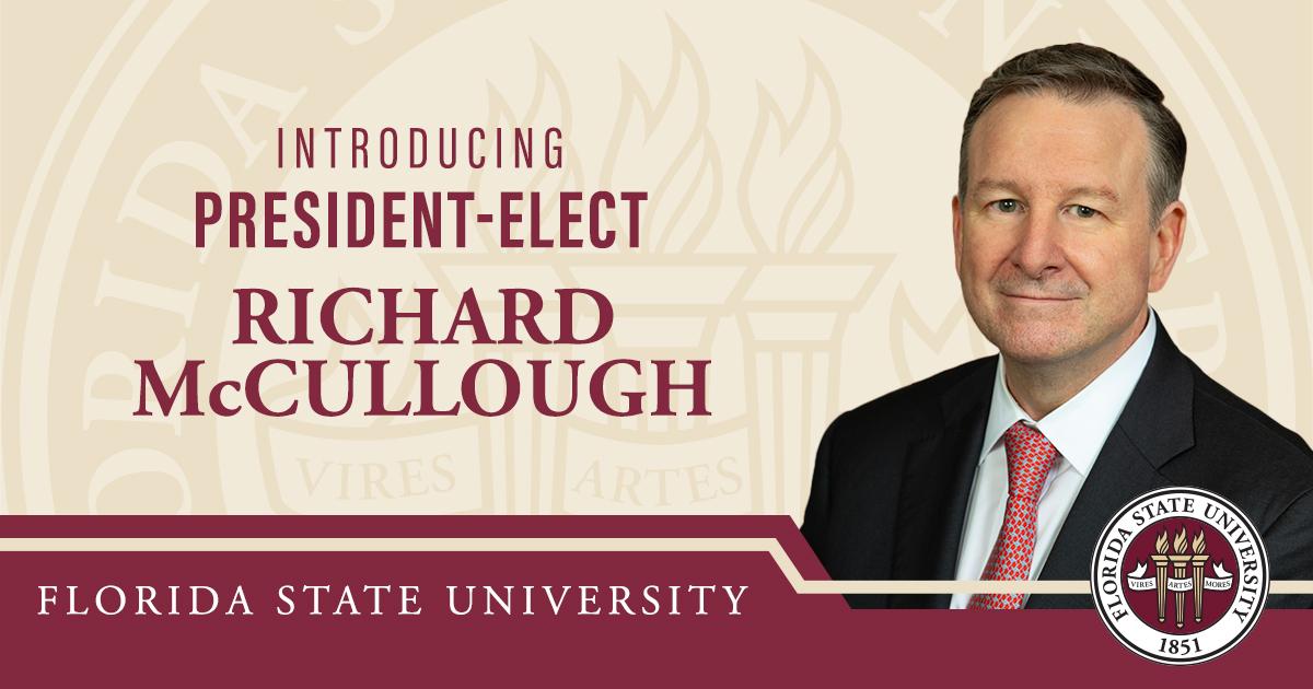 Introducing President-Elect Richard McCullough